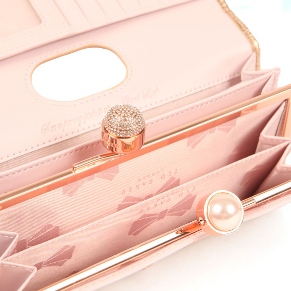 Ted Baker Womens Pink Marta Crystal Pearl Bobble Matinee main image
