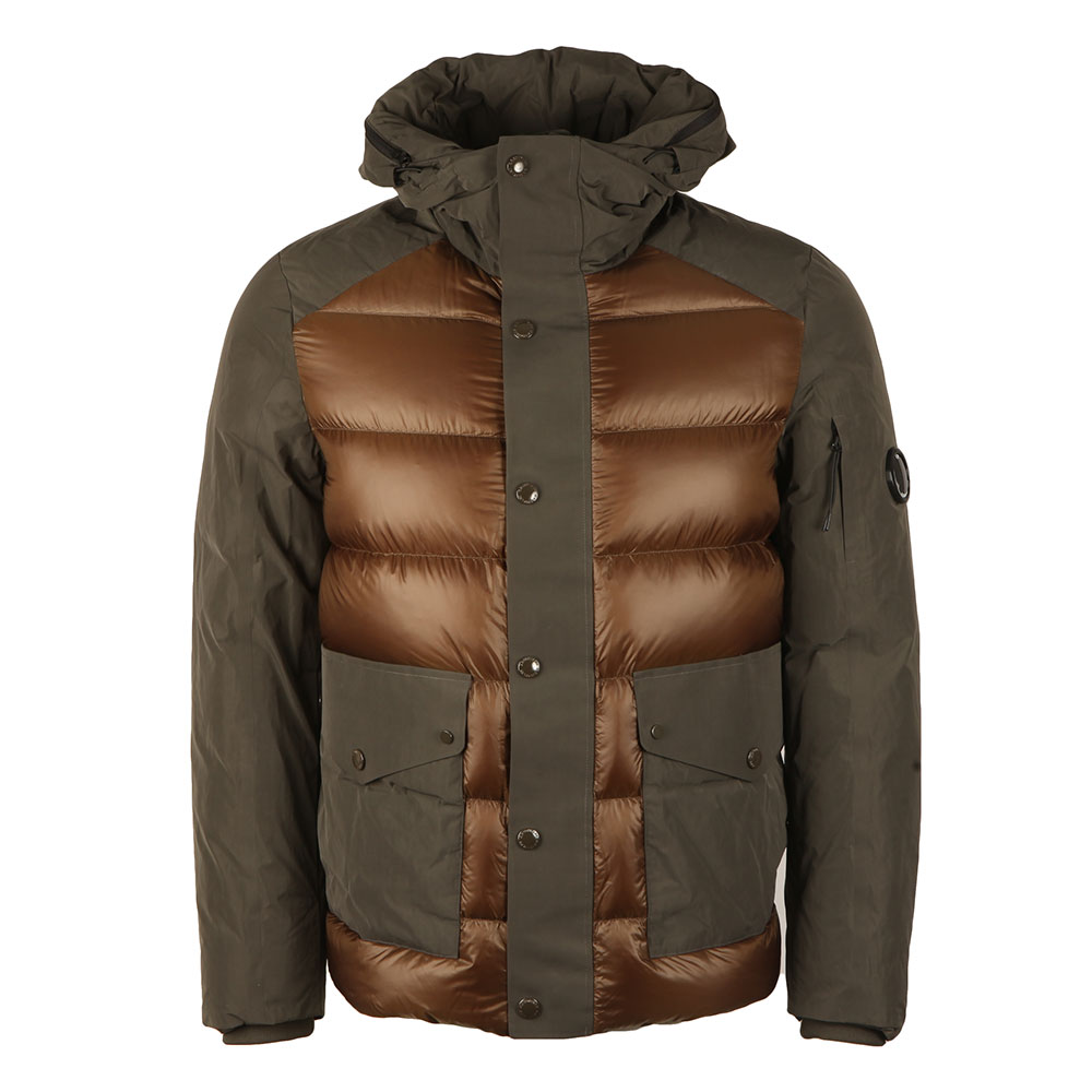 Direct Down Hooded Shell Jacket main image