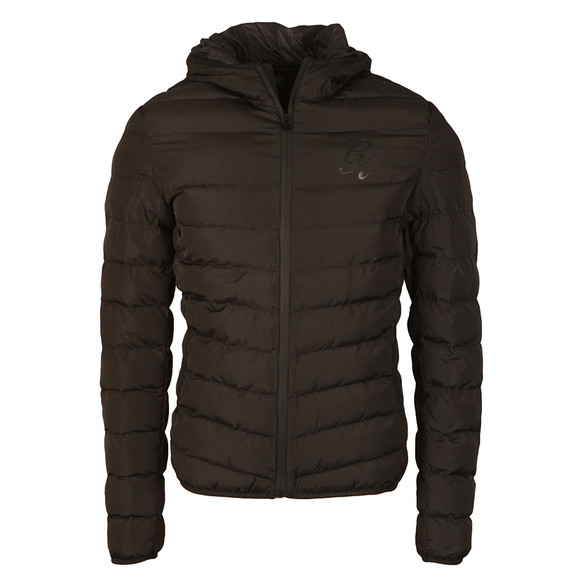 Gym king Mens Black Puffer Jacket main image