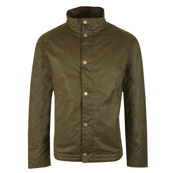 Barbour Lifestyle Mens Green Duxbury Wax Jacket main image