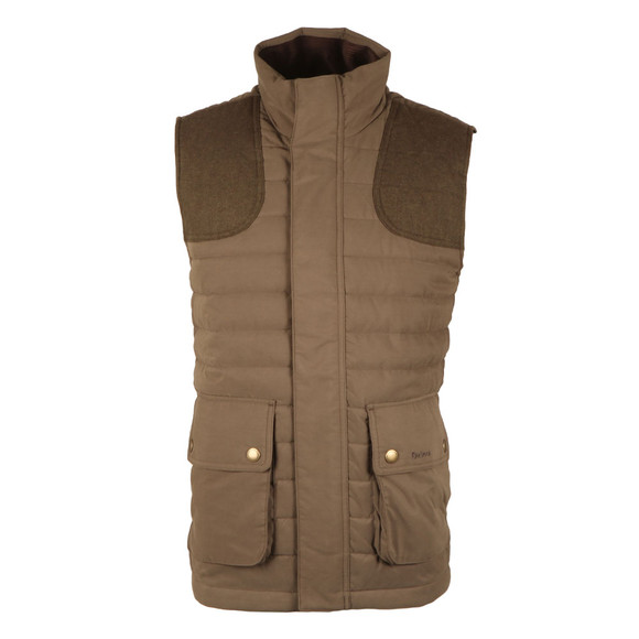 Barbour Lifestyle Mens Green Bradford Gilet main image