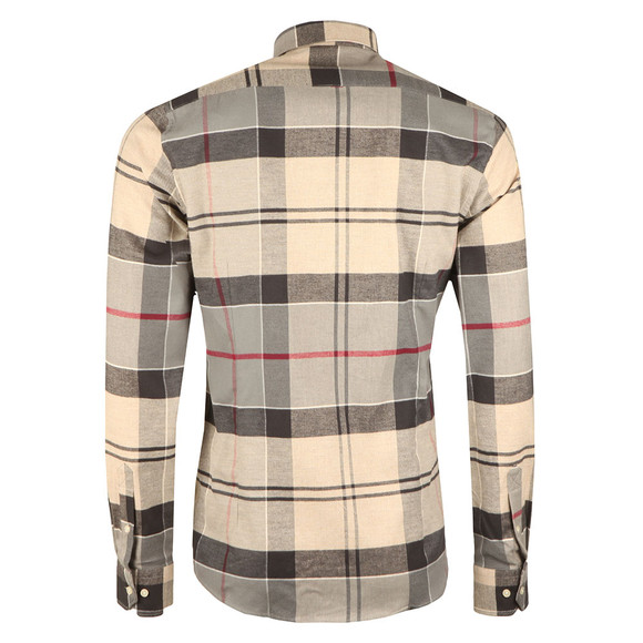 Barbour Lifestyle Mens Grey L/s John Shirt main image