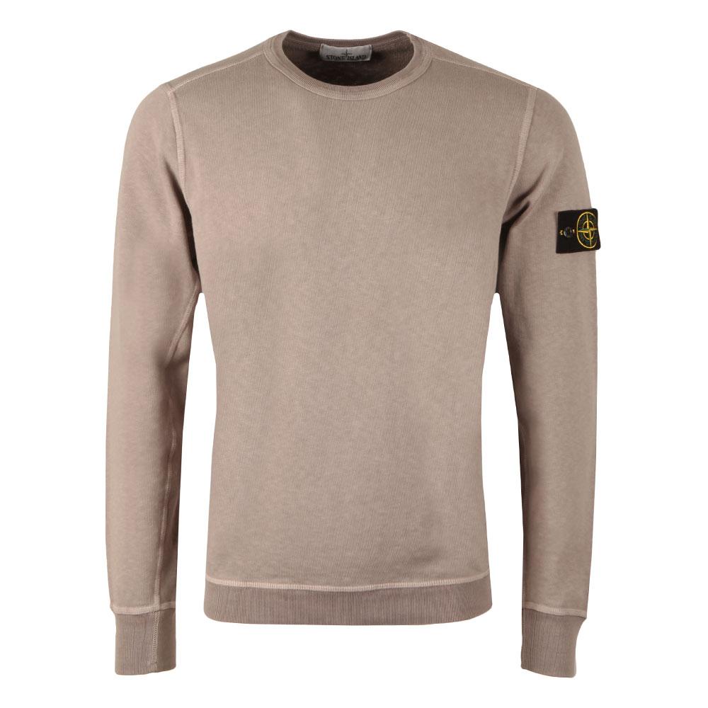 Washed Crew Neck Sweatshirt main image
