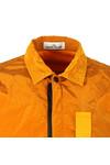 Stone Island Mens Orange Nylon Metal Overshirt