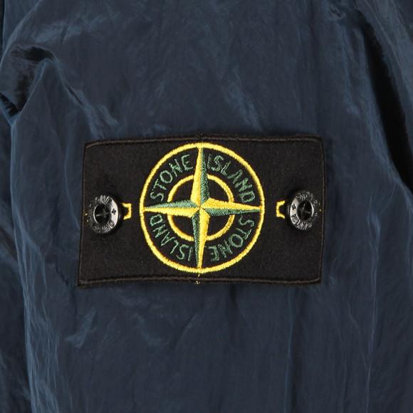 Stone Island Mens Blue Nylon Metal Overshirt main image