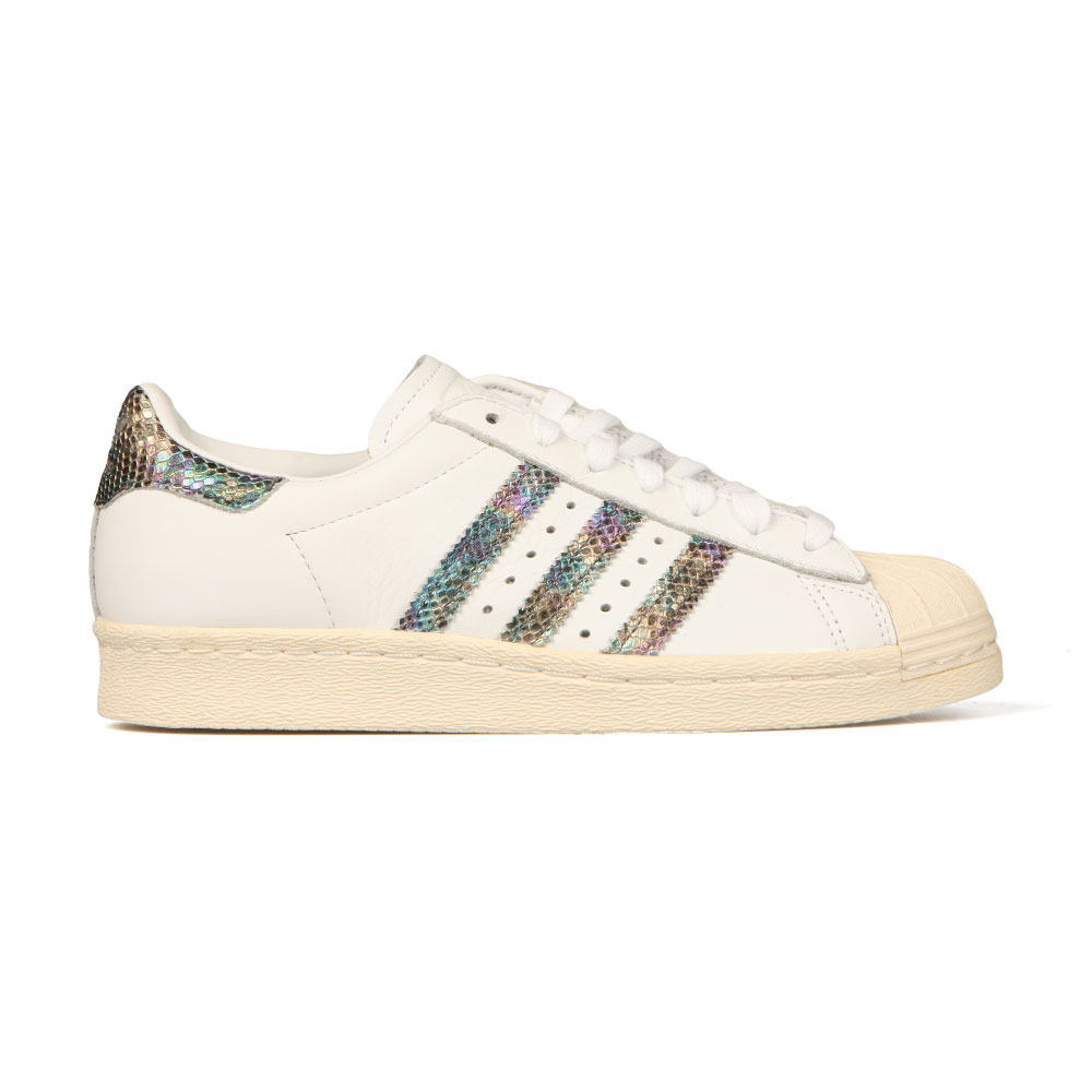 b1a440514e2 adidas Originals Womens White Superstar 80s Trainer