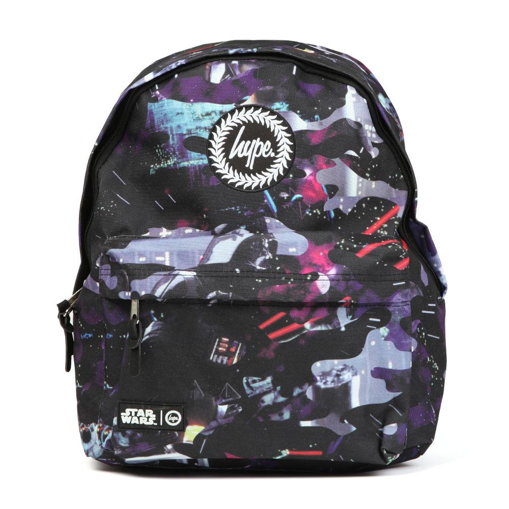 Hype Star Wars Darkside Camo Backpack, in Purple & Black.