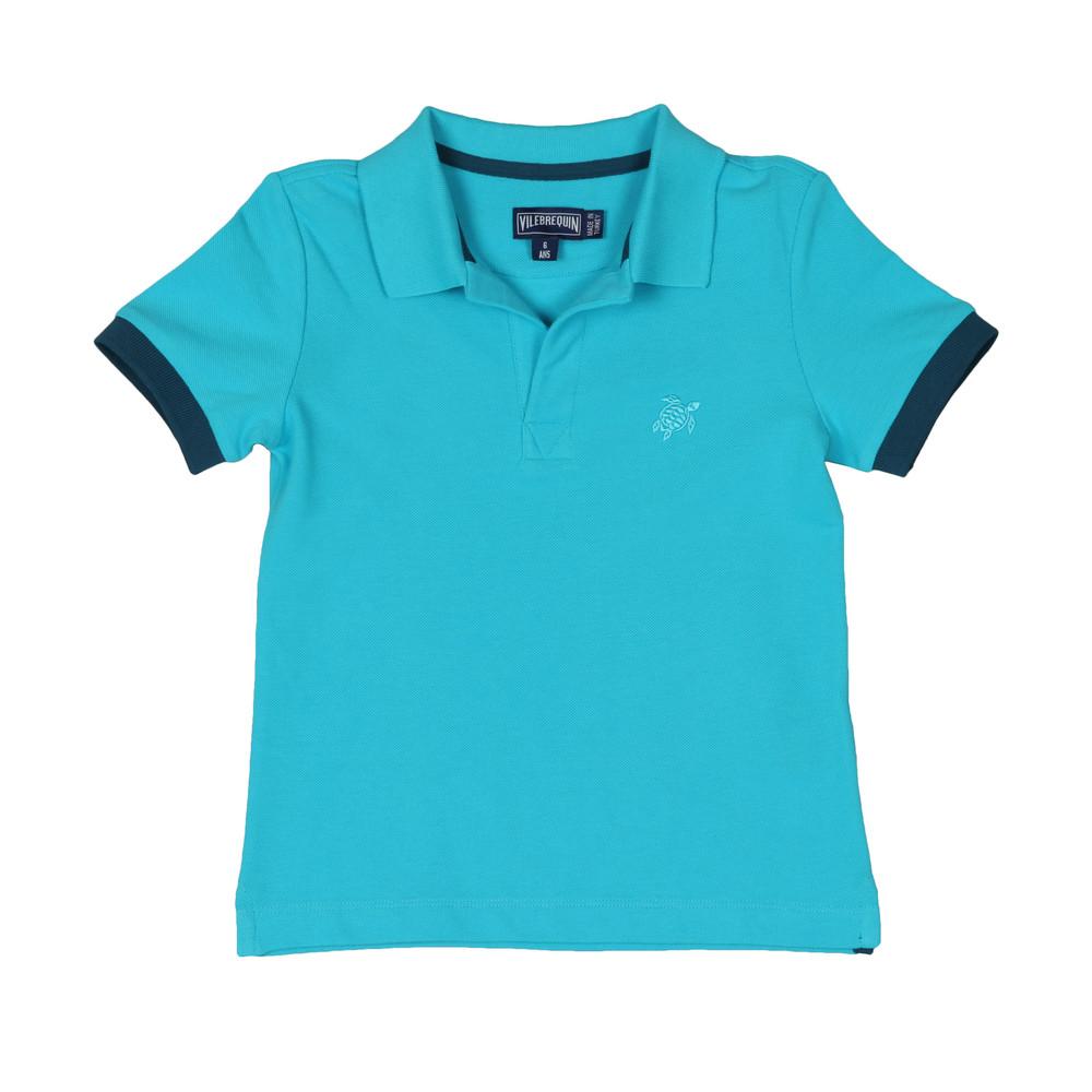 Boys Pantin Pique Polo Shirt