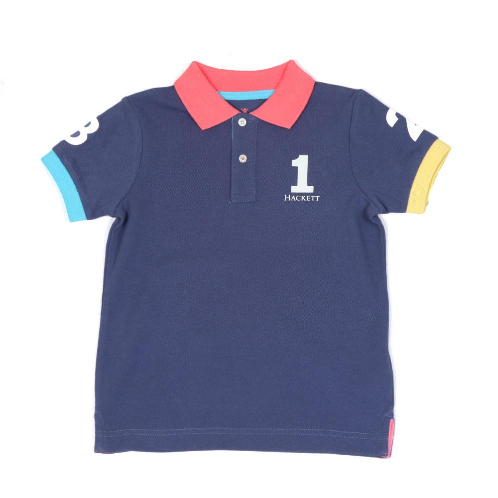 Boys Number Polo Shirt