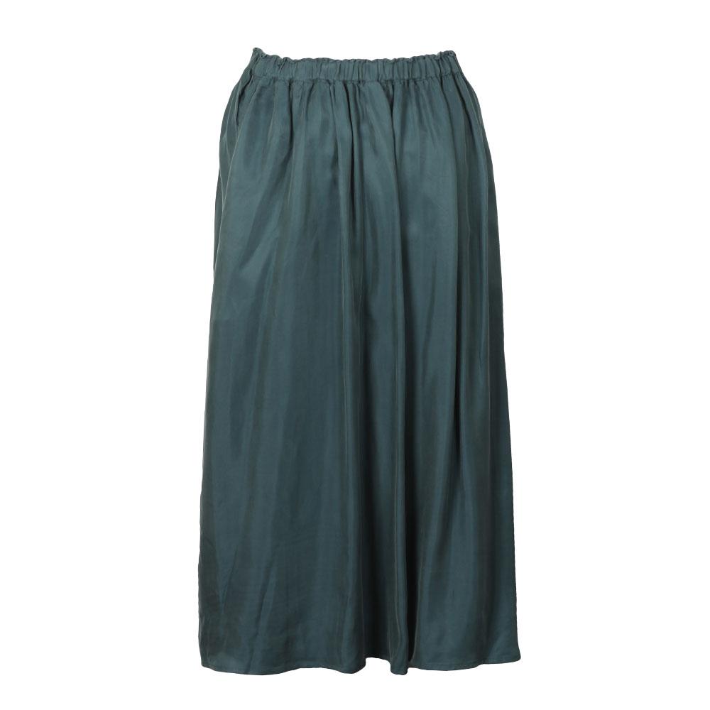 8b63baf511 Maison Scotch Womens Blue Midi Length Full Skirt