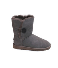 Ugg Grey Bailey Button