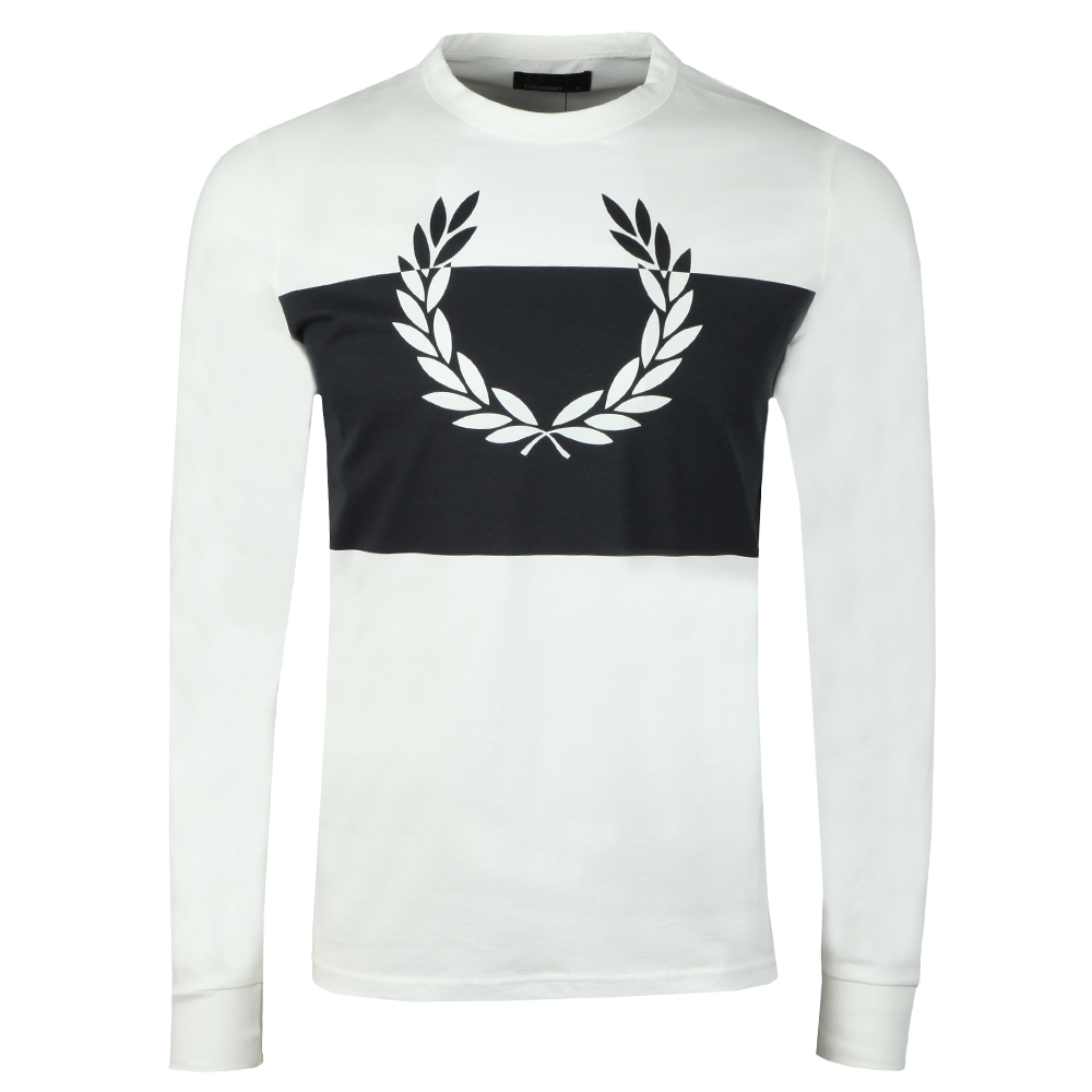 Blocked Laurel Wreath Ls T-Shirt