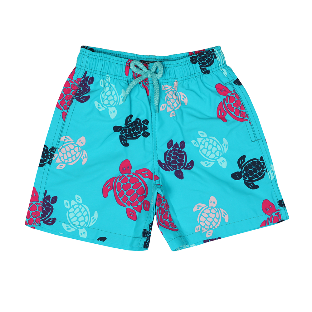 Boys Multicoloured Turtle Swim Short
