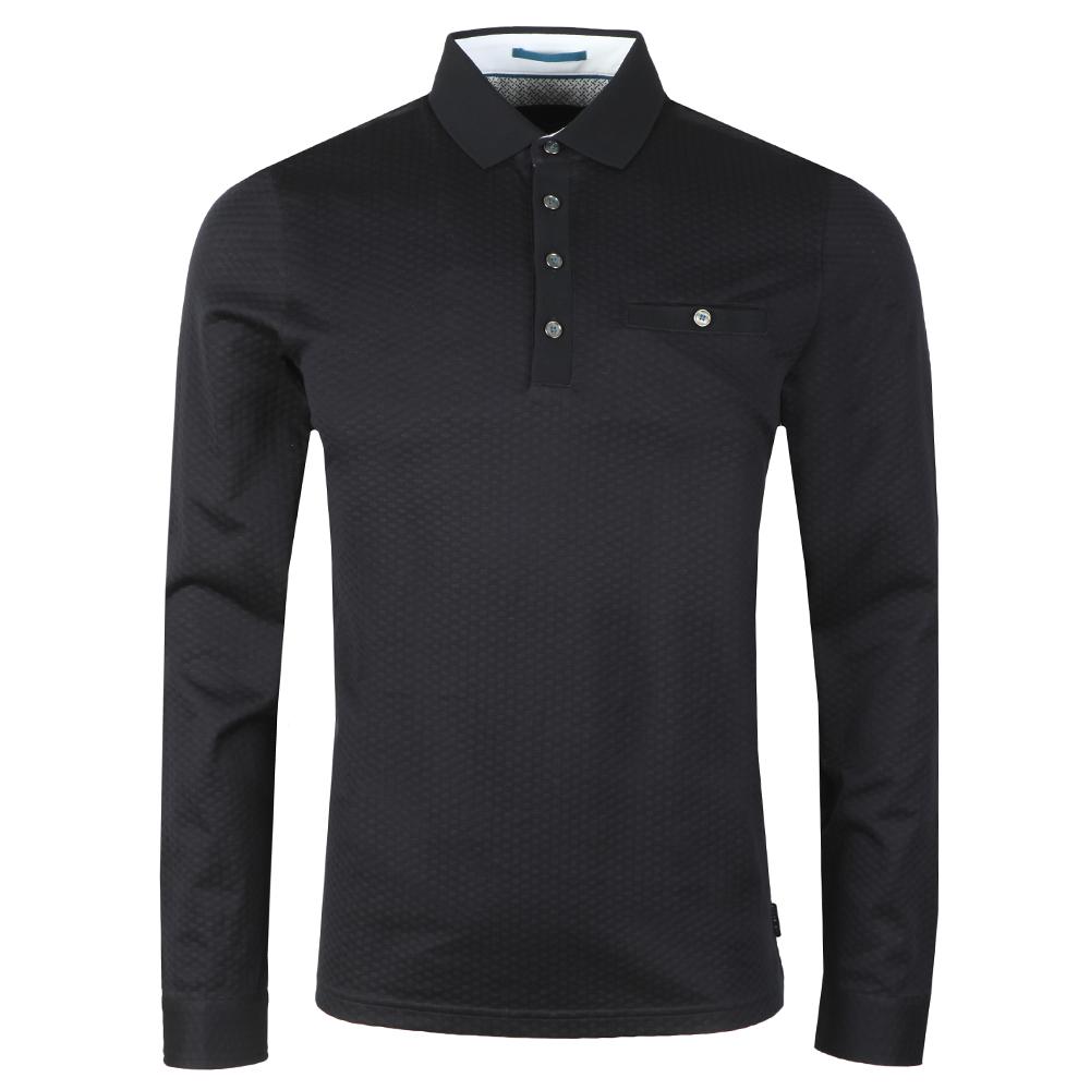 Fruitpa Ls Textured Polo Shirt