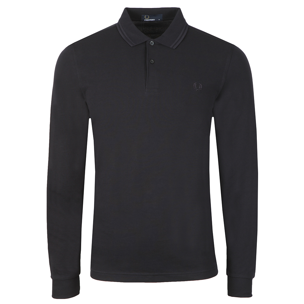 L/S Tipped Polo