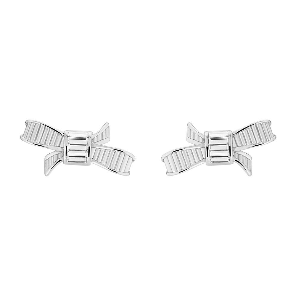 Deljcia Ribbon Bow Stud Earring