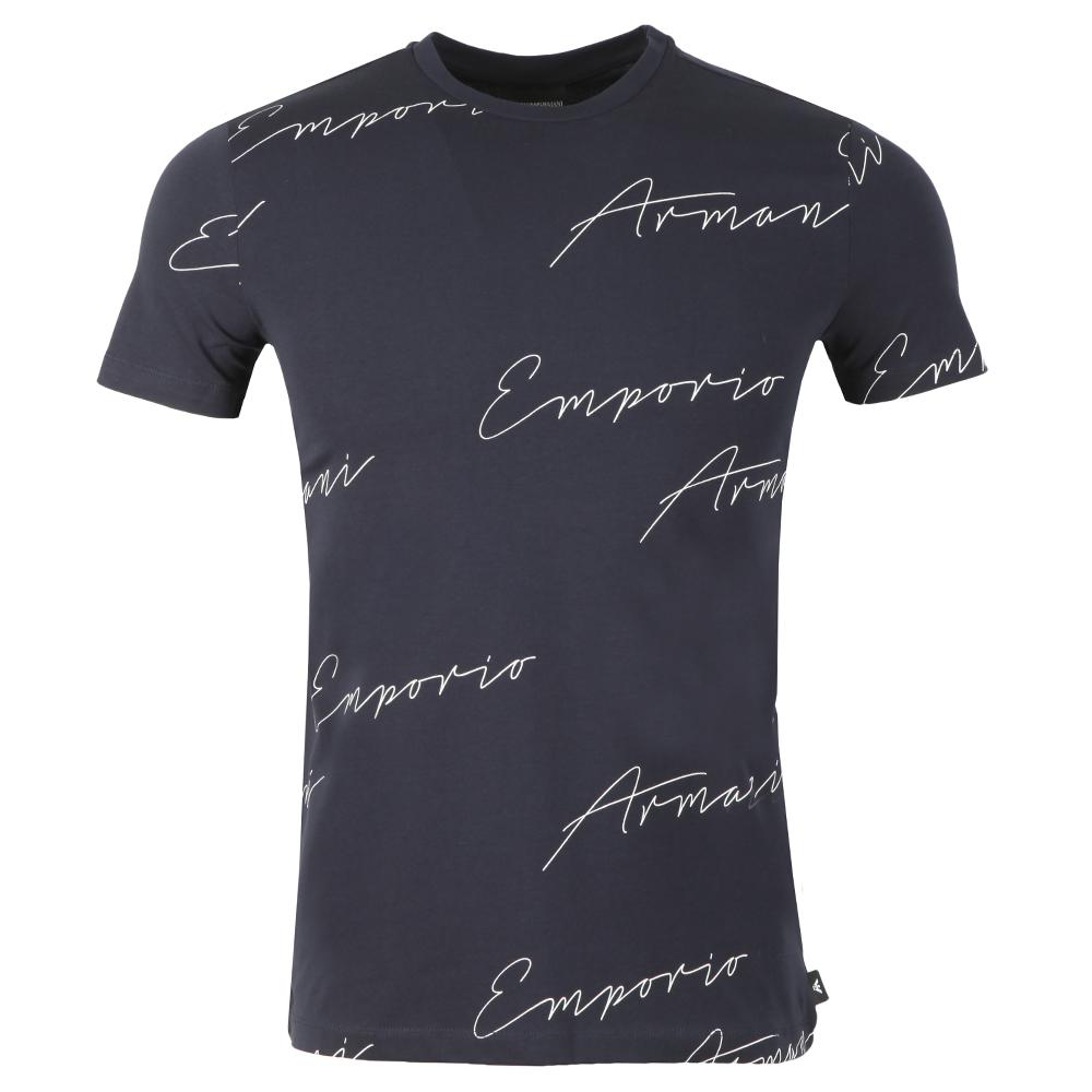 Allover Signature T Shirt
