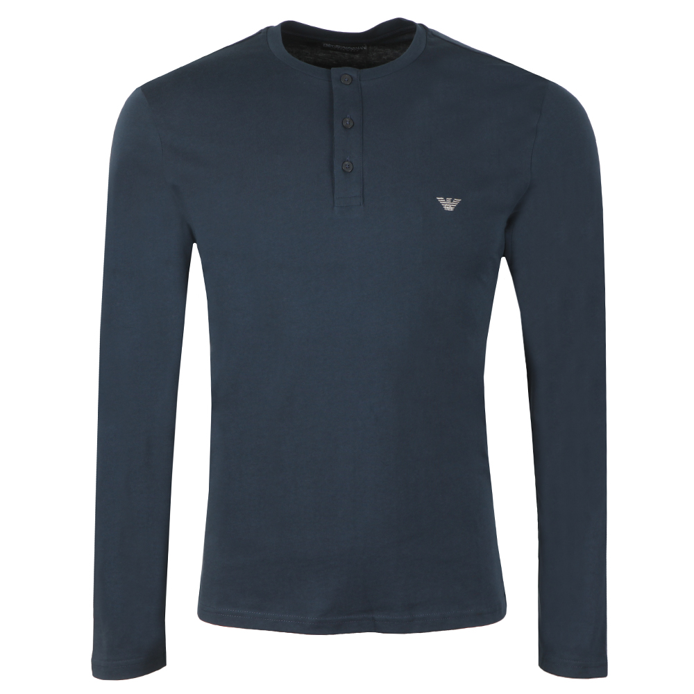 Long Sleeve Henley T Shirt