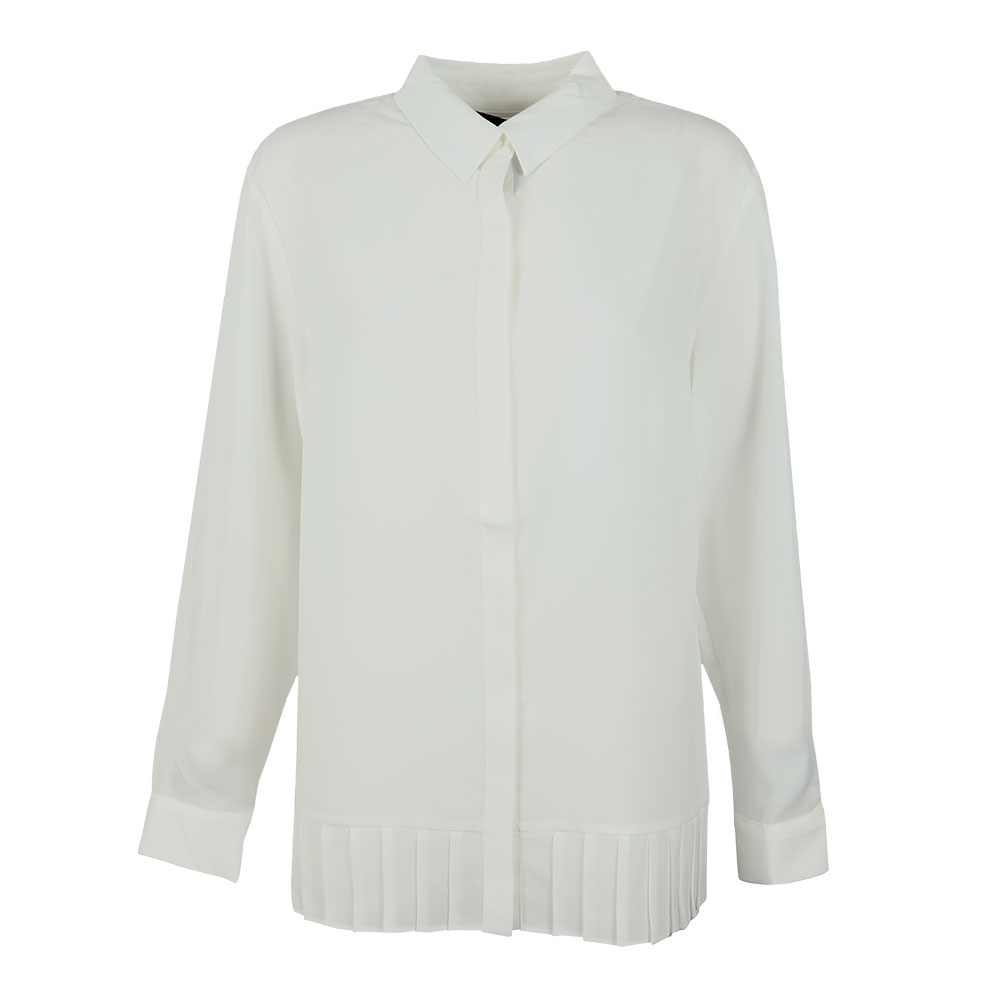 Crepe Light Pleat Shirt
