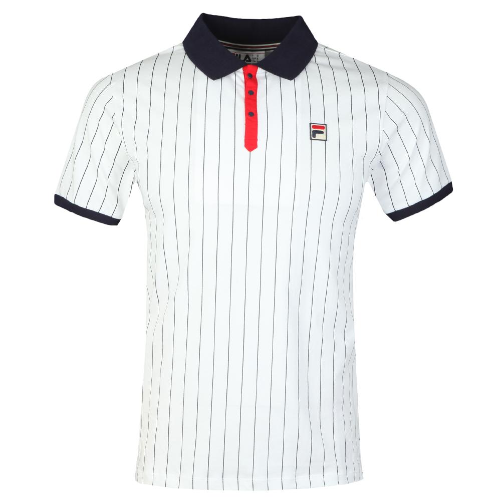 Bb1 Striped Polo