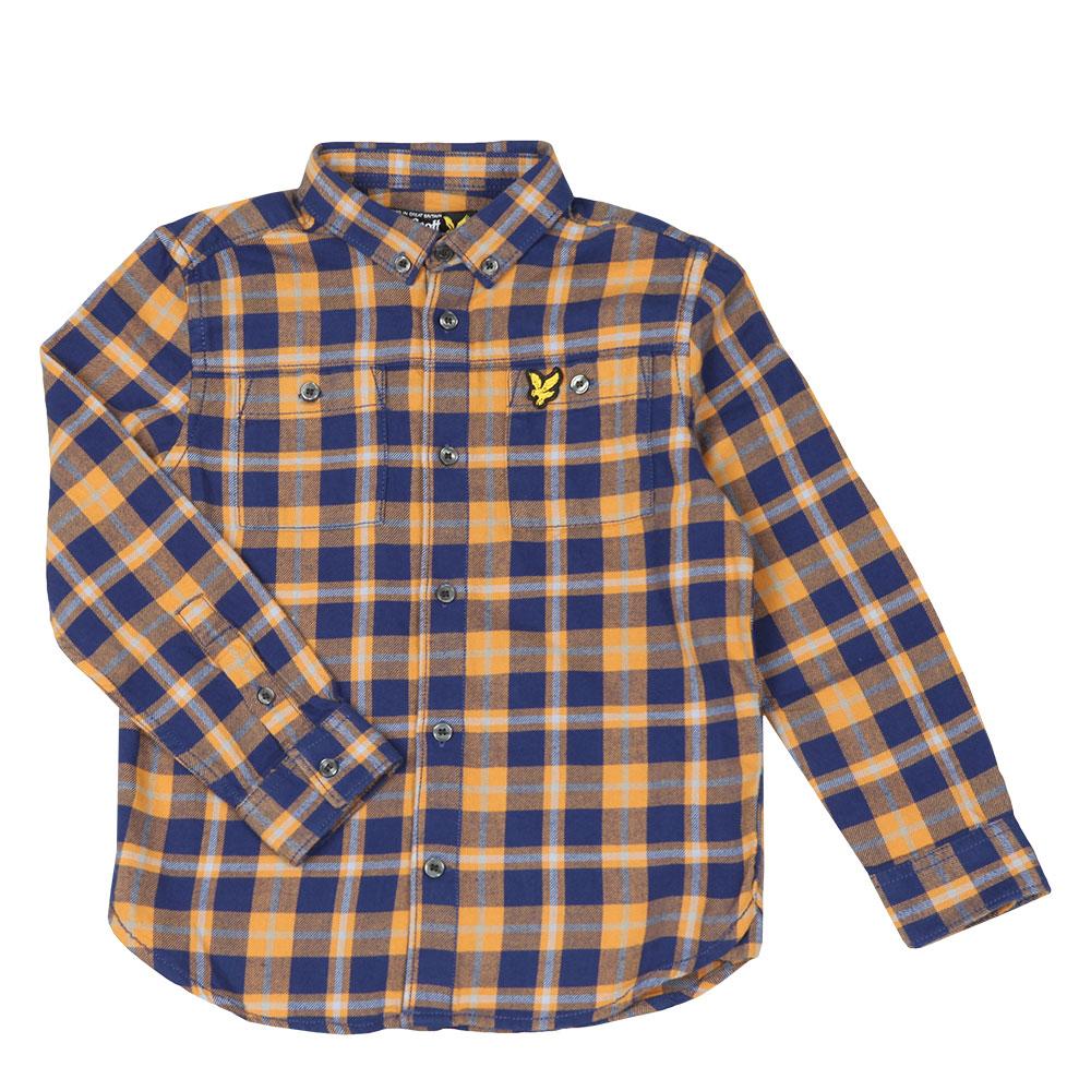 Brushed Twill Check Shirt