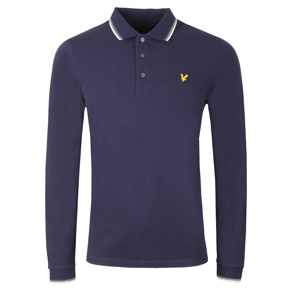 Ls Tipped Polo Shirt