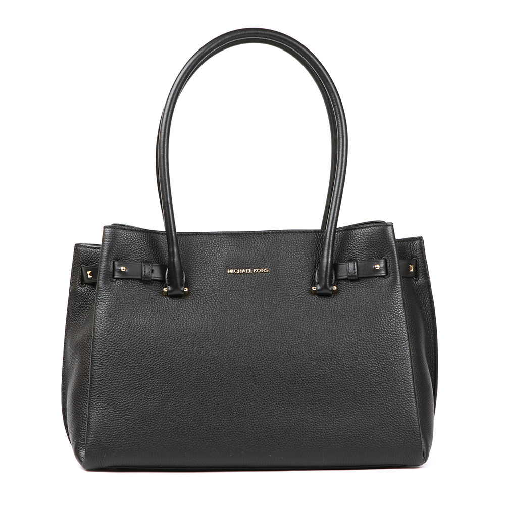 Addison Medium Pebble Leather Tote