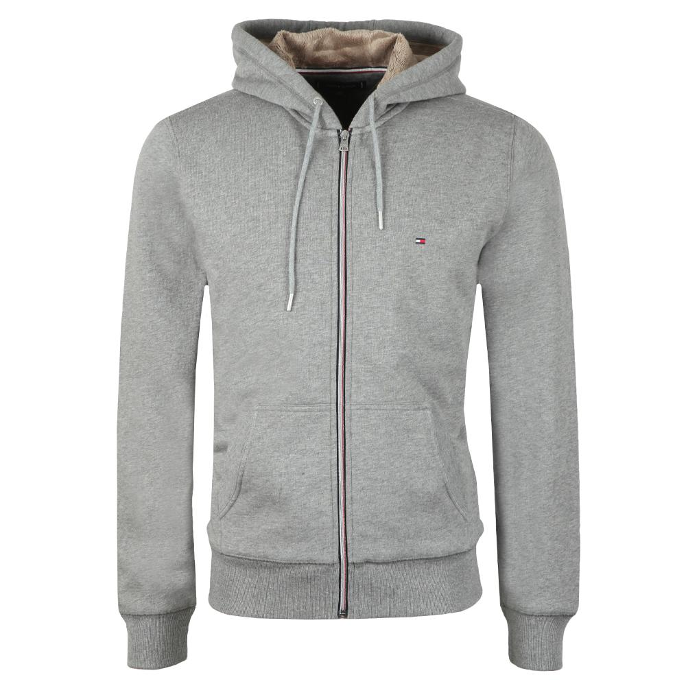 Basic Fur Lined Zip Hoodie