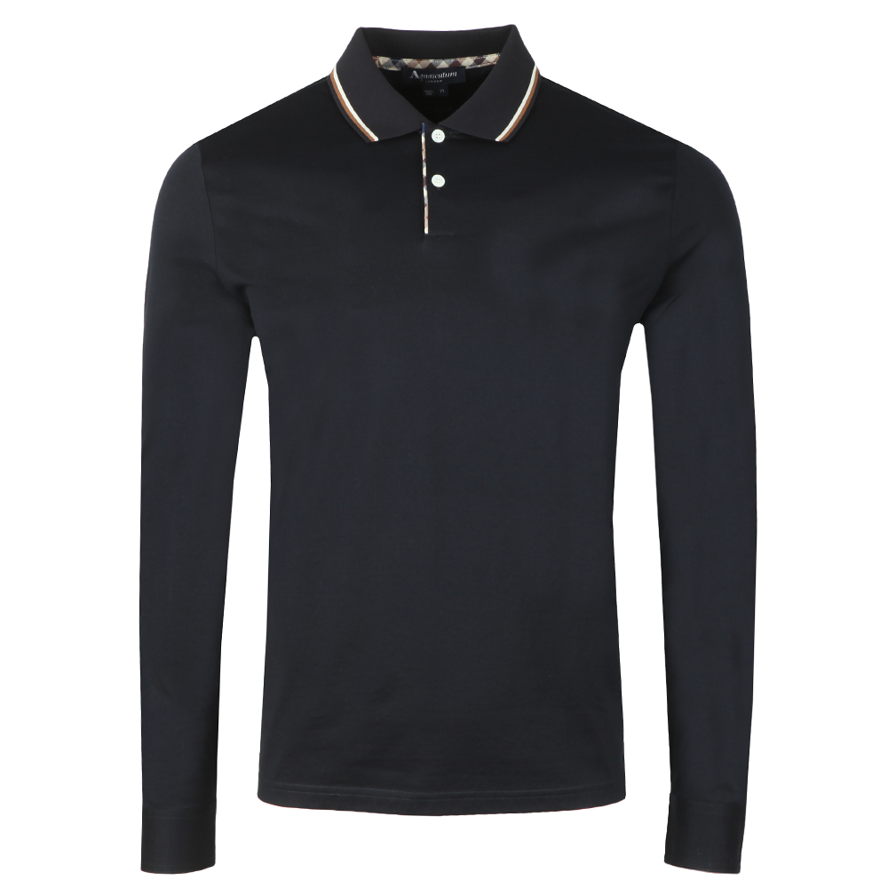 Bert Ls Polo With Vicuna Tipping