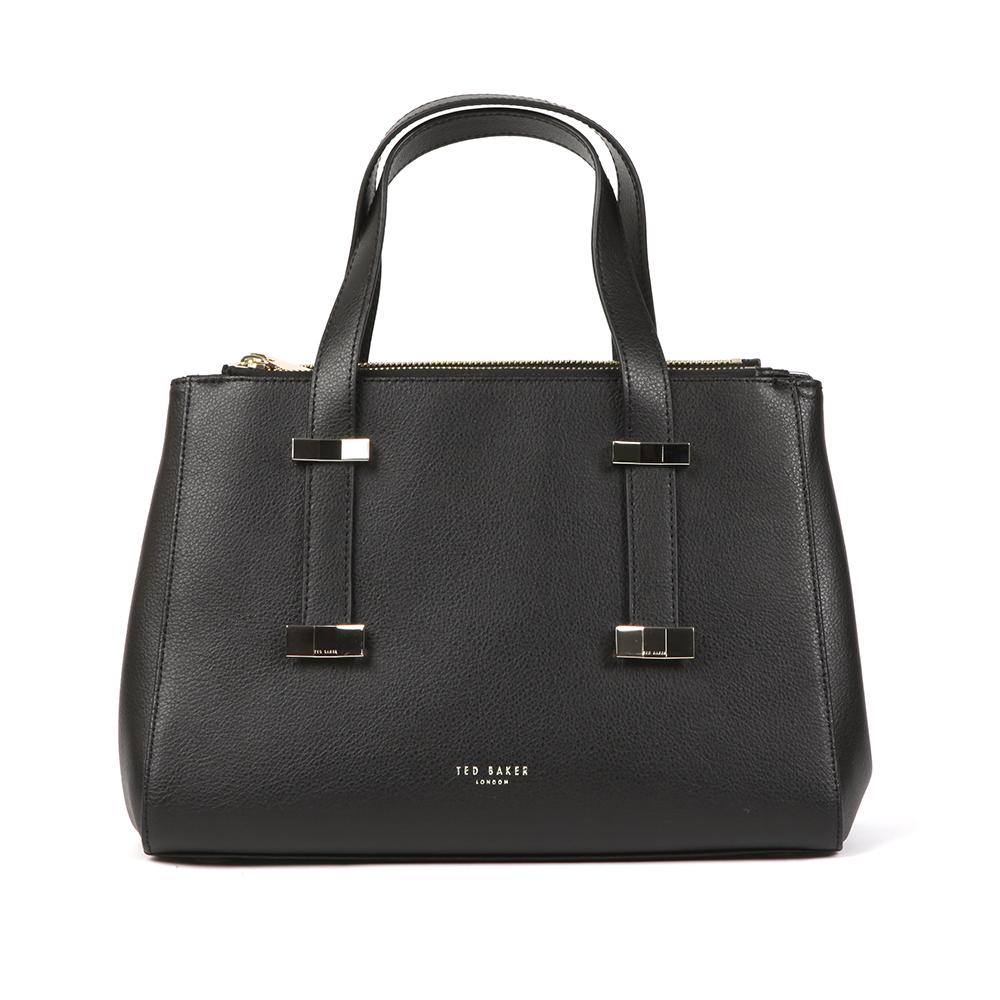 Alyssa Bow Adjustable Handle Small Tote Bag