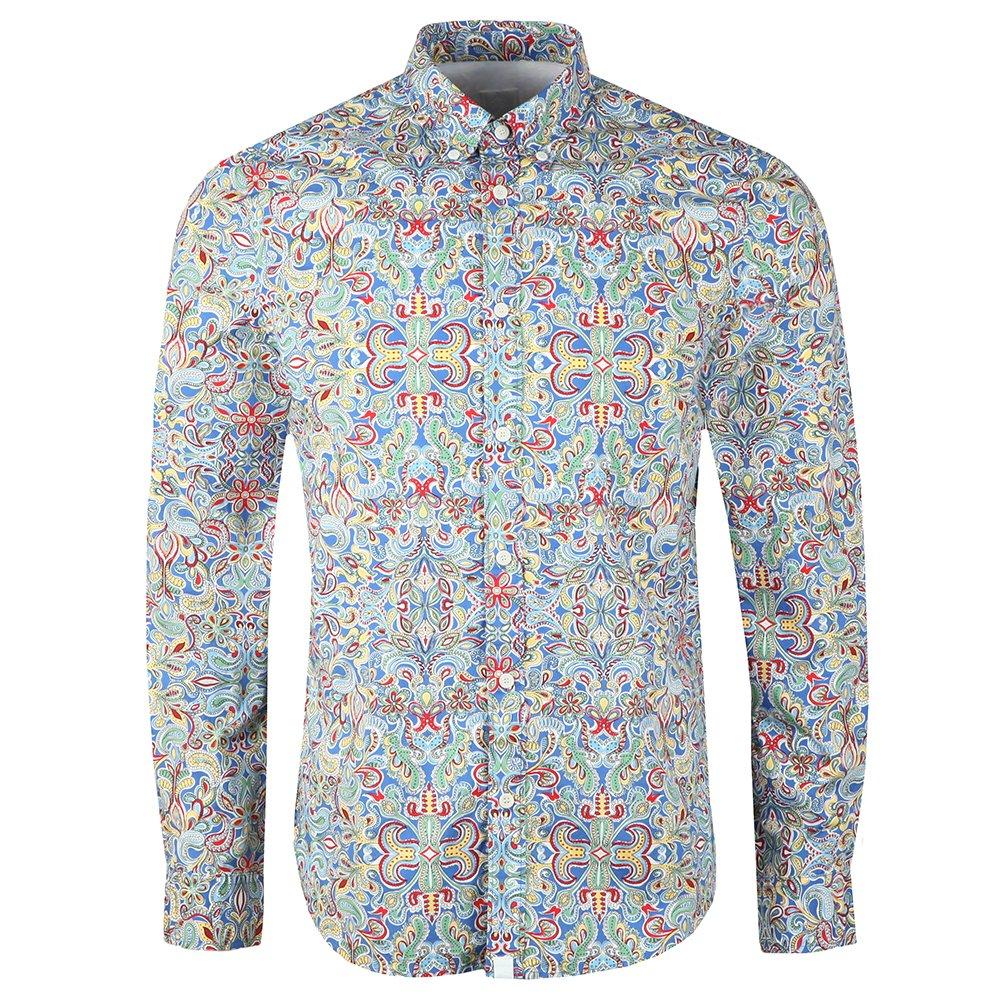 Beatles Moscow Print Shirt