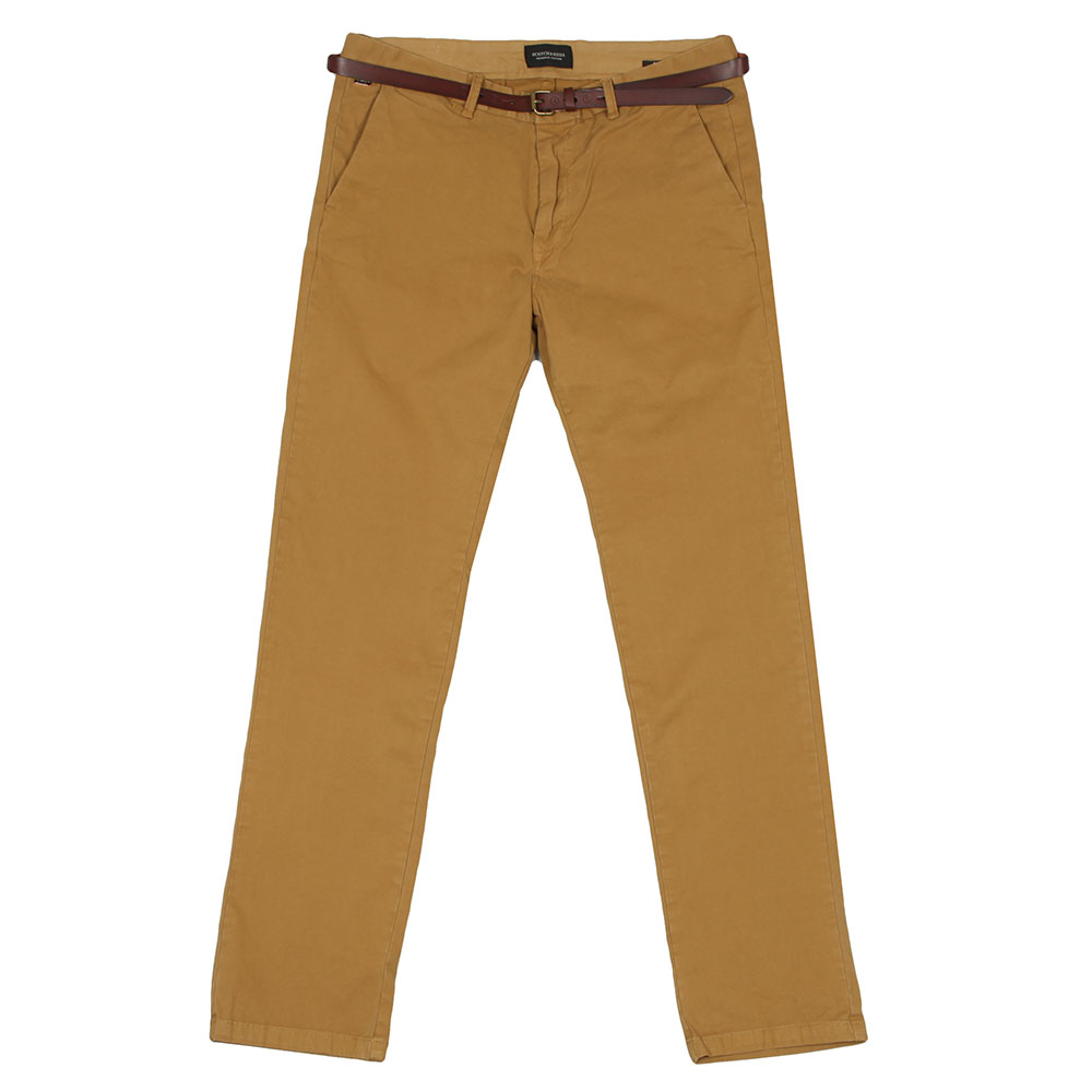 Chino In Stretch Cotton