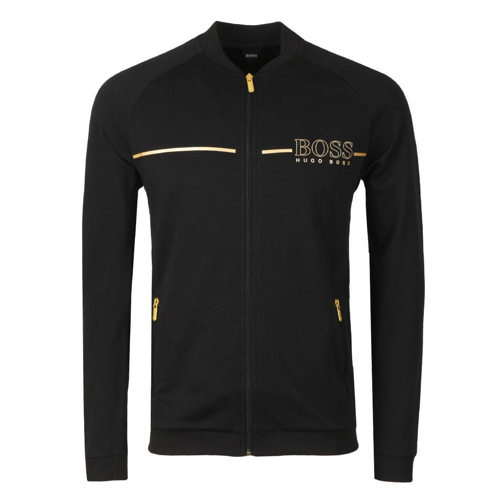 Gold Logo Tracksuit Jacket