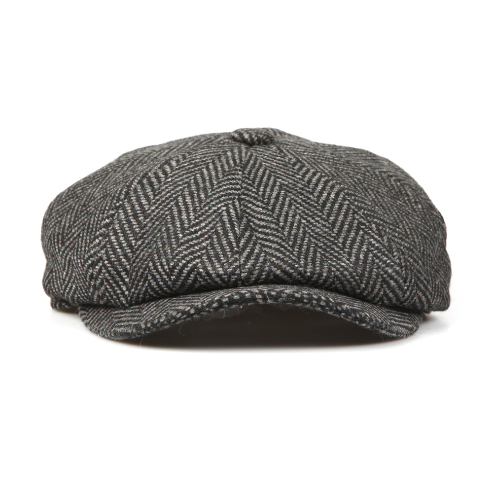 Herringbone Bakerboy Cap