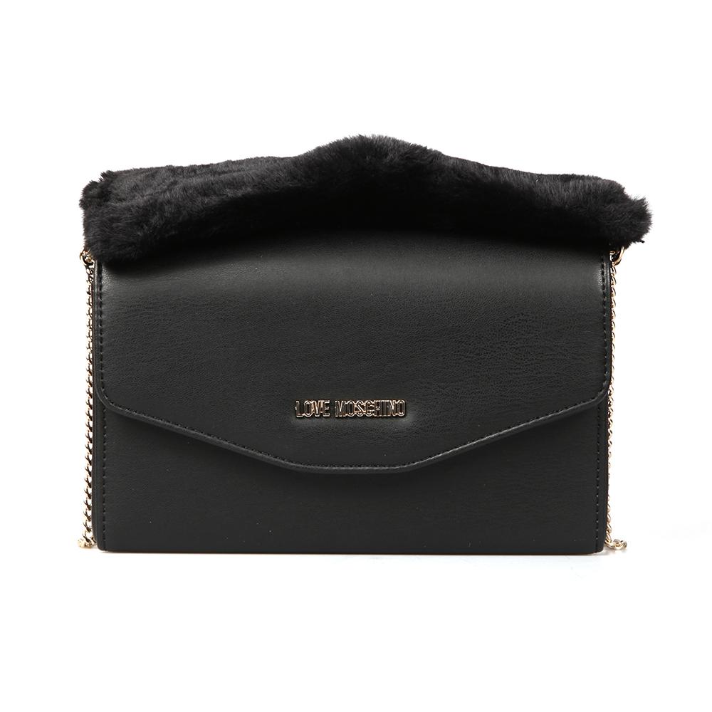 Borsa Nappa Pu & Fur Bag