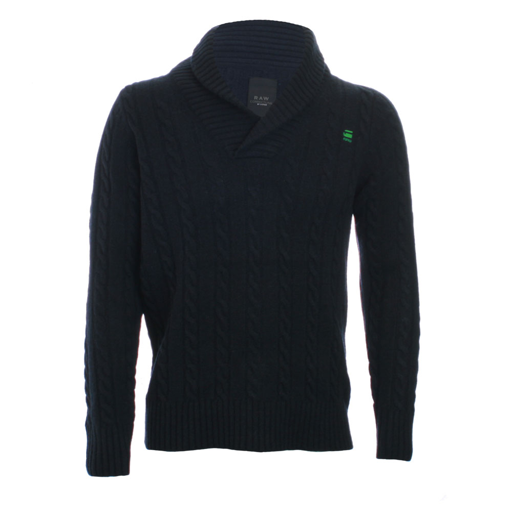 g star marine new east shawl pullover knit oxygen clothing. Black Bedroom Furniture Sets. Home Design Ideas