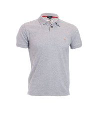 Basic Zebra Logo Grey Polo