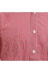 Paul Smith Jeans Mens Red Paul Smith 756K Small Red Check Shirt
