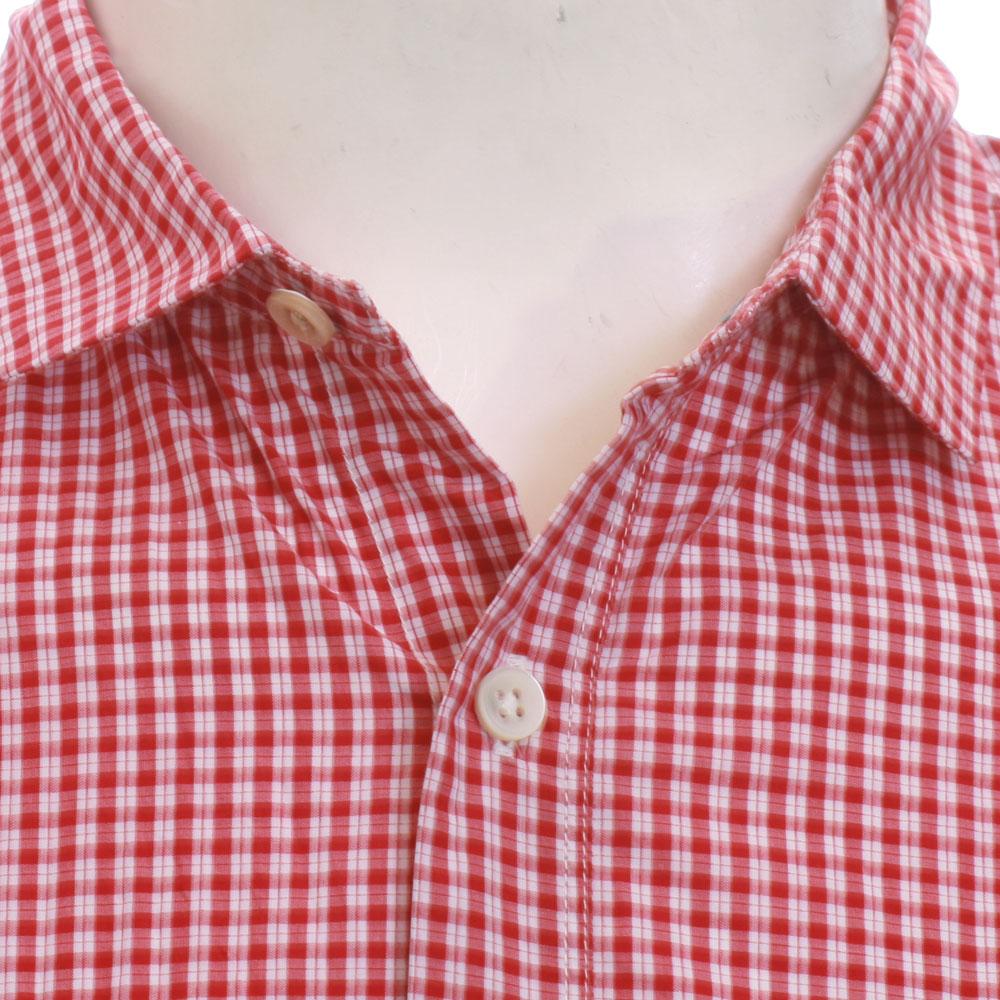Paul Smith 756K Small Red Check Shirt main image
