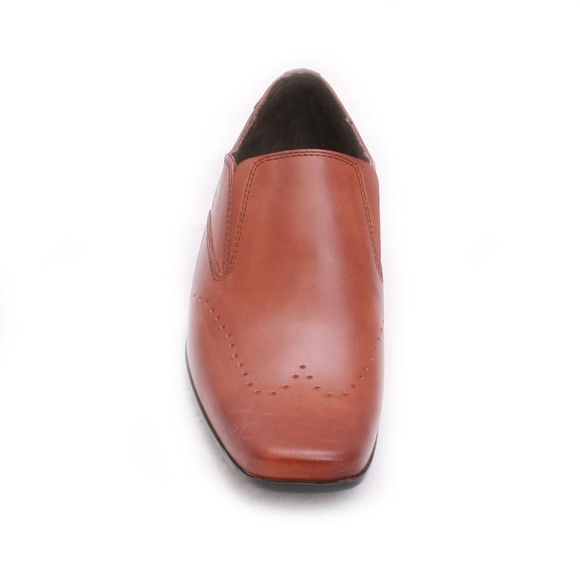 Base London Mens Brown Base London Tan Portray Shoe main image