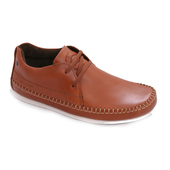 Base London Mens Brown Base London Cave Tan Shoe main image