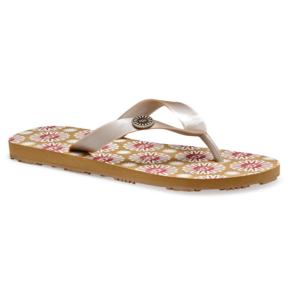 b6131bd1e2a Ugg Flare Flip Flops Size 8