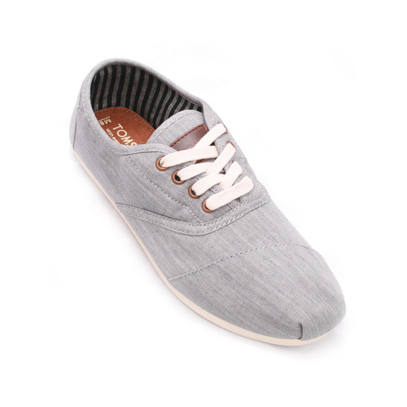 Toms Mens Grey Toms Grey Cordones Lace Up main image
