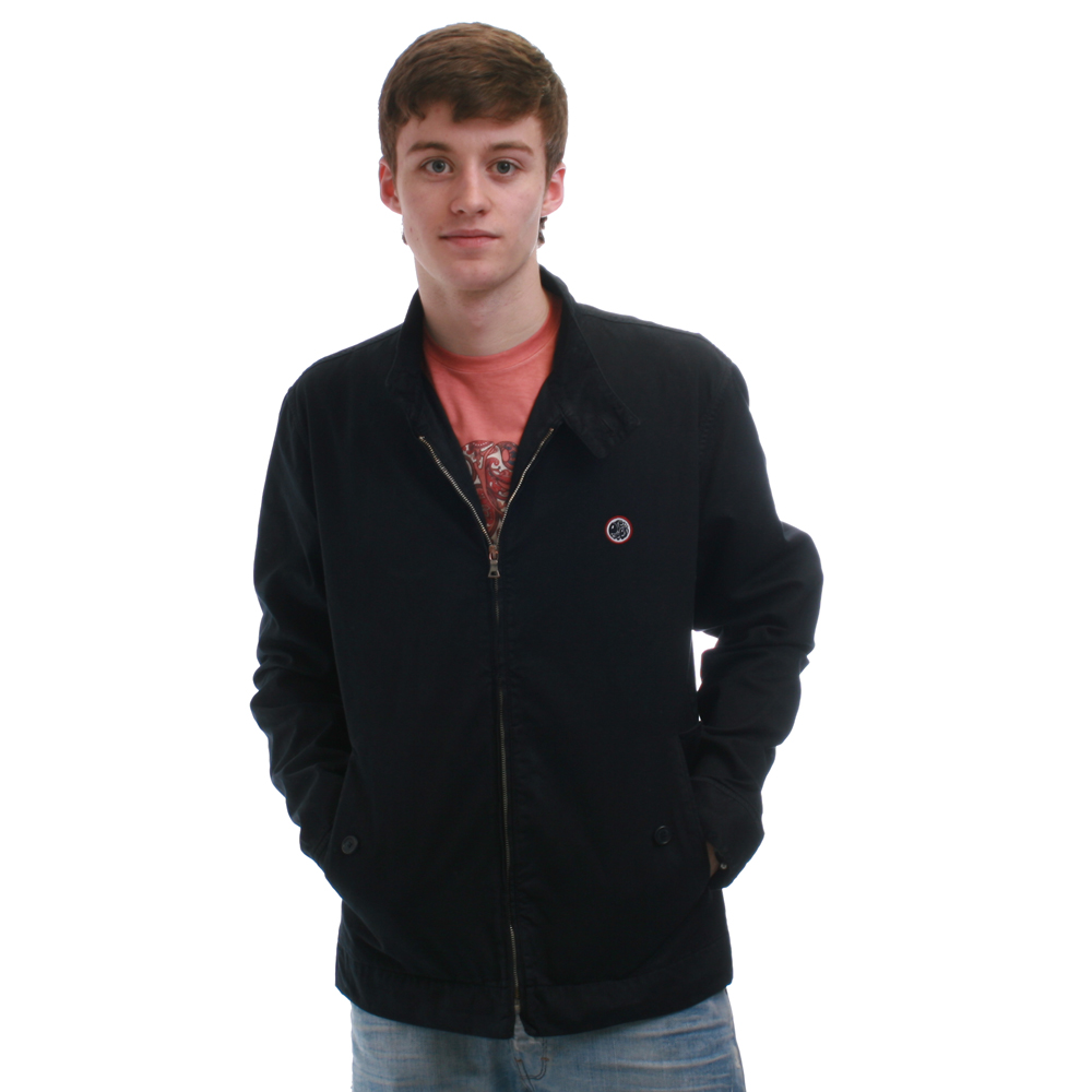 Pretty Green Harrington Navy Jacket main image