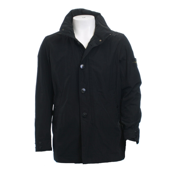 stone island black trench coat oxygen clothing. Black Bedroom Furniture Sets. Home Design Ideas