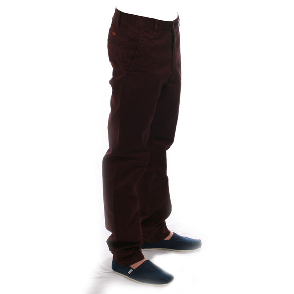 Dockers Mens Red Dockers Burgandy Tapered Trouser main image
