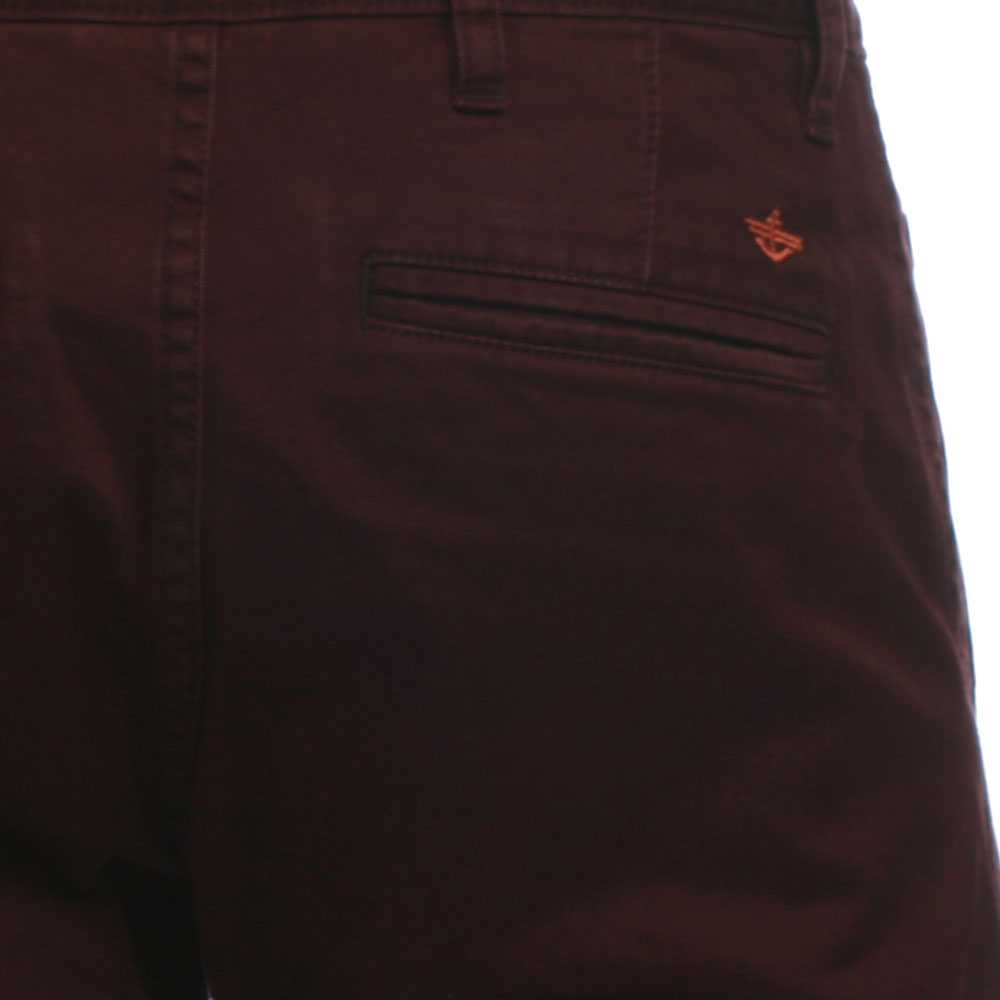 Dockers Burgandy Tapered Trouser main image