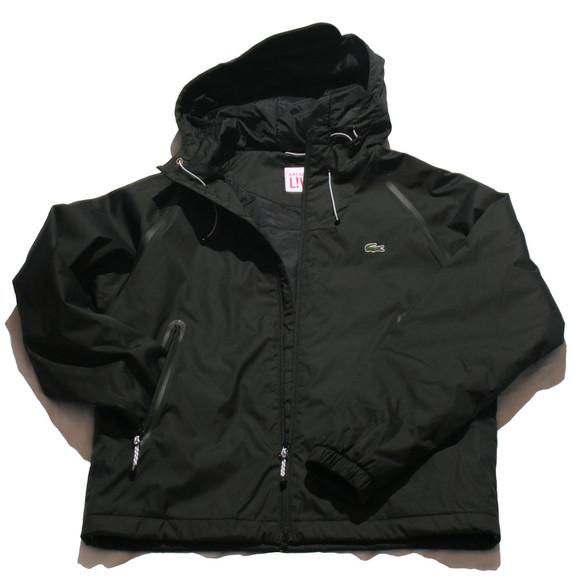 lacoste live gymmic black hooded jacket oxygen clothing. Black Bedroom Furniture Sets. Home Design Ideas