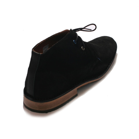 Base London Mens Black Base London Black Lease Suede Boot main image
