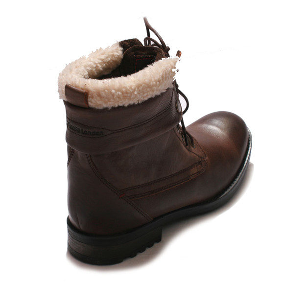 Base London Mens Brown Base London Brown Artillery Grain Boot main image